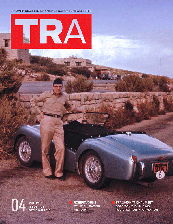 Triumph Register Of America Formed To Preserve The Triumph Marque - Fast car tra