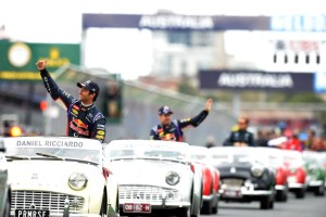 F1 Triumph Parade of Drivers Austrailia